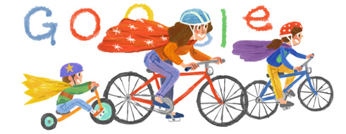 Happy cycling (and not) mother's day. image