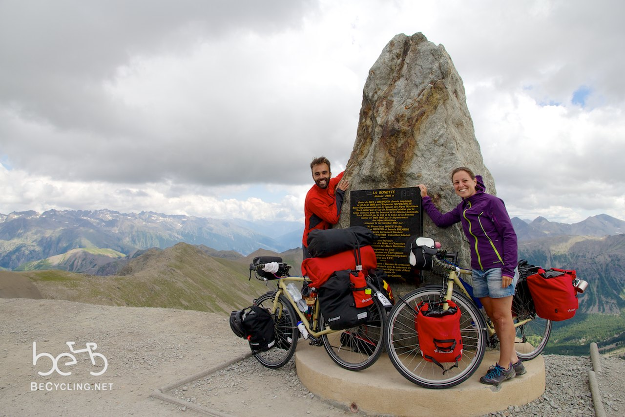 Col de La Bonette, our first goal! image